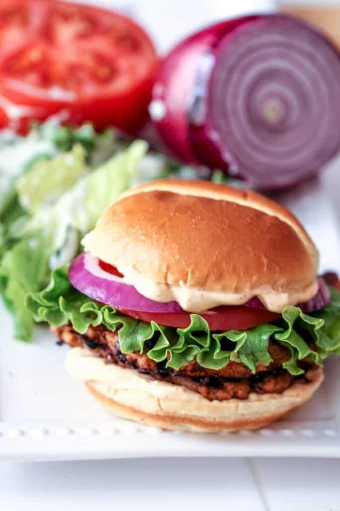 a recipe for an amazing hamburger