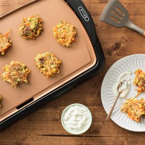 A review of the Bella copper titanium coated electric griddle.