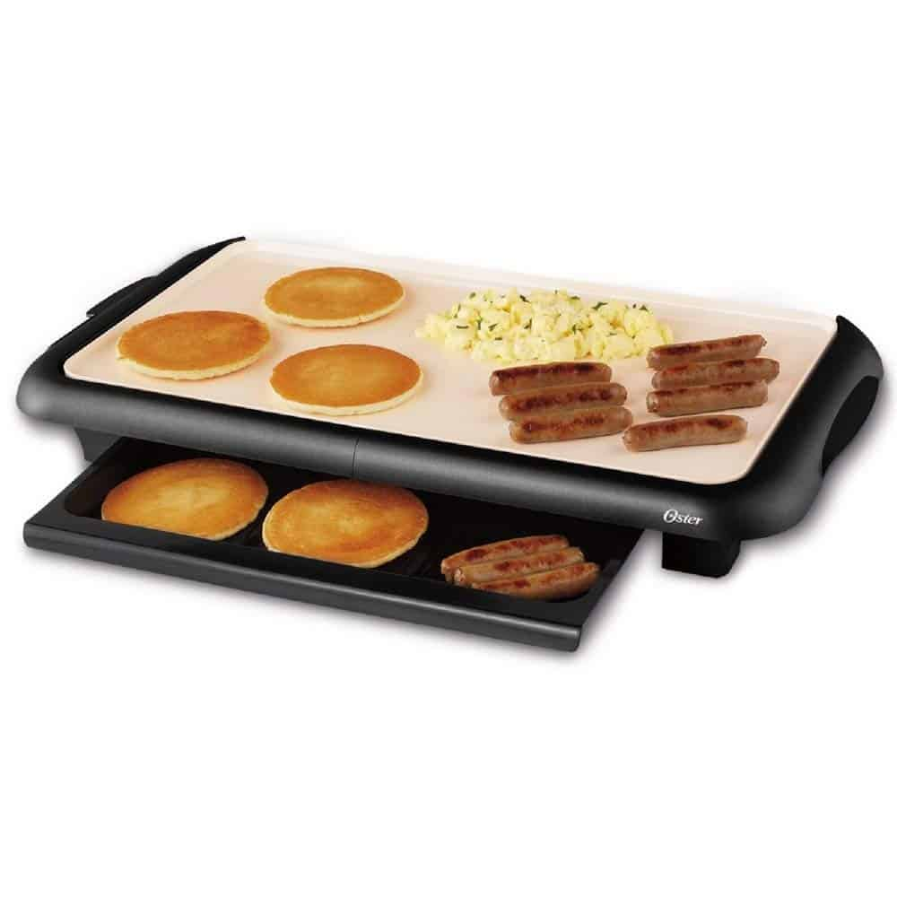 Oster Electric Griddle With Warming Tray Review