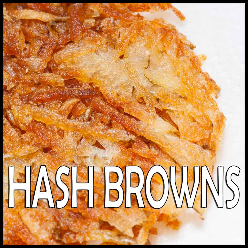 hash browns on an electric griddle