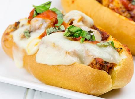Grilled Chicken Parmesan Sandwich Recipe.