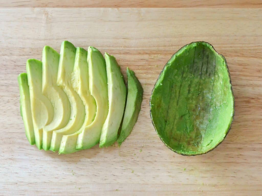 Use Sliced Avocados For A Grilled Cheese And Avocado Sandwich