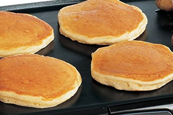 Making Pancakes On An Electric Griddle
